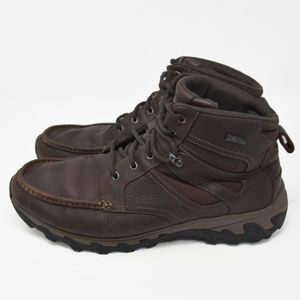 Rockport Sz 11.5W Brown Leather Hiking Boots